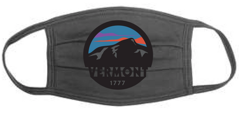 1777 VT Sunset Adult Face Mask