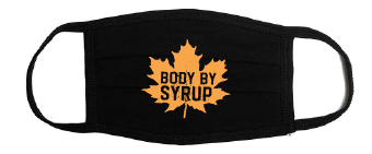 Body by Syrup Adult Face Mask