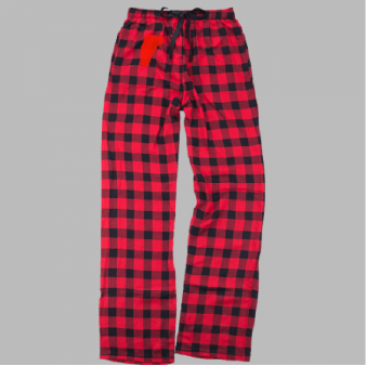 Adult Unisex Plaid Flannel Pants