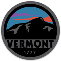 Vermont Sunset Magnet