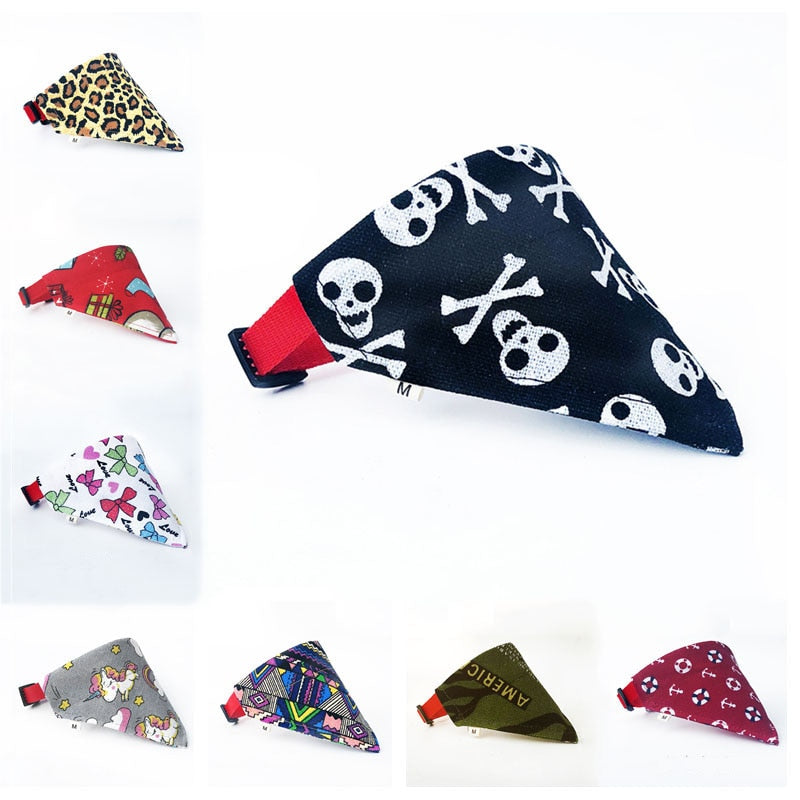 16 Colors Dog Adjustable Bandana | PETSARAMA-ilovemypet.com-as show-S neck 24-30cm-Petsarama