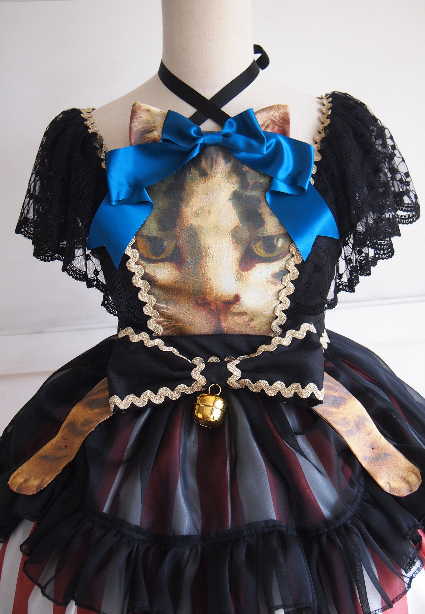 Vierge Vampur  Cat-Cat Dress