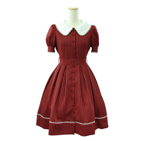 "Sheglit ""Sharlotte Puff Dress"" -red black-"