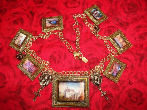 "Anima! Adamas ""Palaces necklace"""