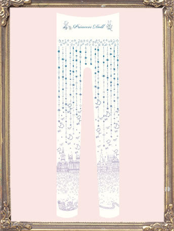 "Princess Doll ""Night Stars Accumulate On Me Tights-gradation-"""