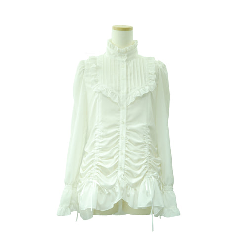 "Sheglit ""Shering tacks blouse(off white)"""