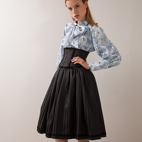 "EXCENTRIQUE ""'15SP Belle Corset Skirt"""