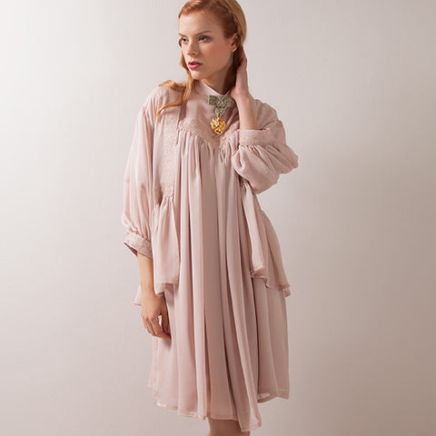 EXCENTRIQUE 15SP Tea Gown(MAUVE)