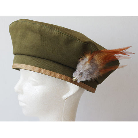 EXCENTRIQUE '15SU Feather Beret khaki