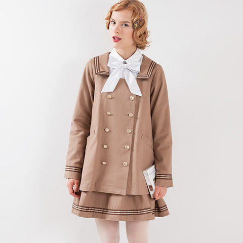 EXCENTRIQUE '15A Sailor Jacket beige