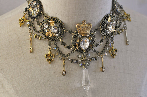 "Lilly ""Royal Palace Dish Necklace"""