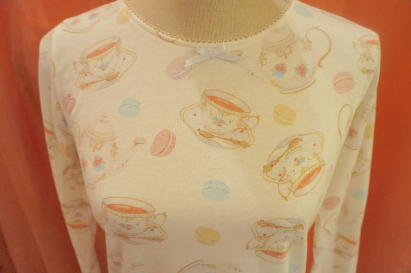 RoseMarie seoir tea party top