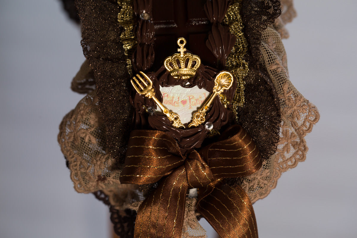 "Pastel Parade""Chocolate Bar Head Dress-milk chocolate-"""