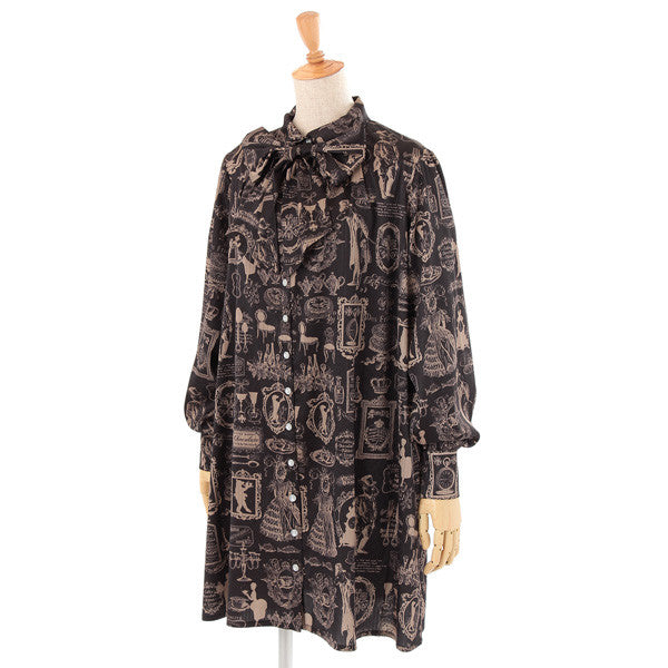 "Excentrique ""Banquet Shirt Dress"""