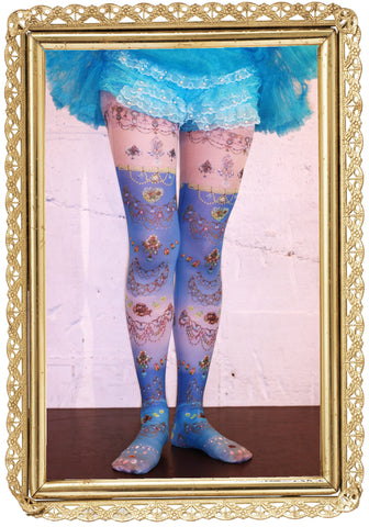 "marywest☆ ""Mermaid Jewelry Tights"""