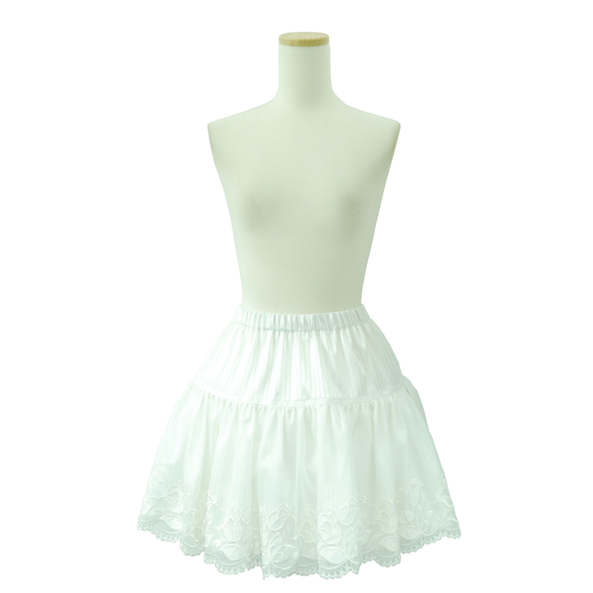 "Sheglit ""Sharlotte Lace Skirt(white)"""