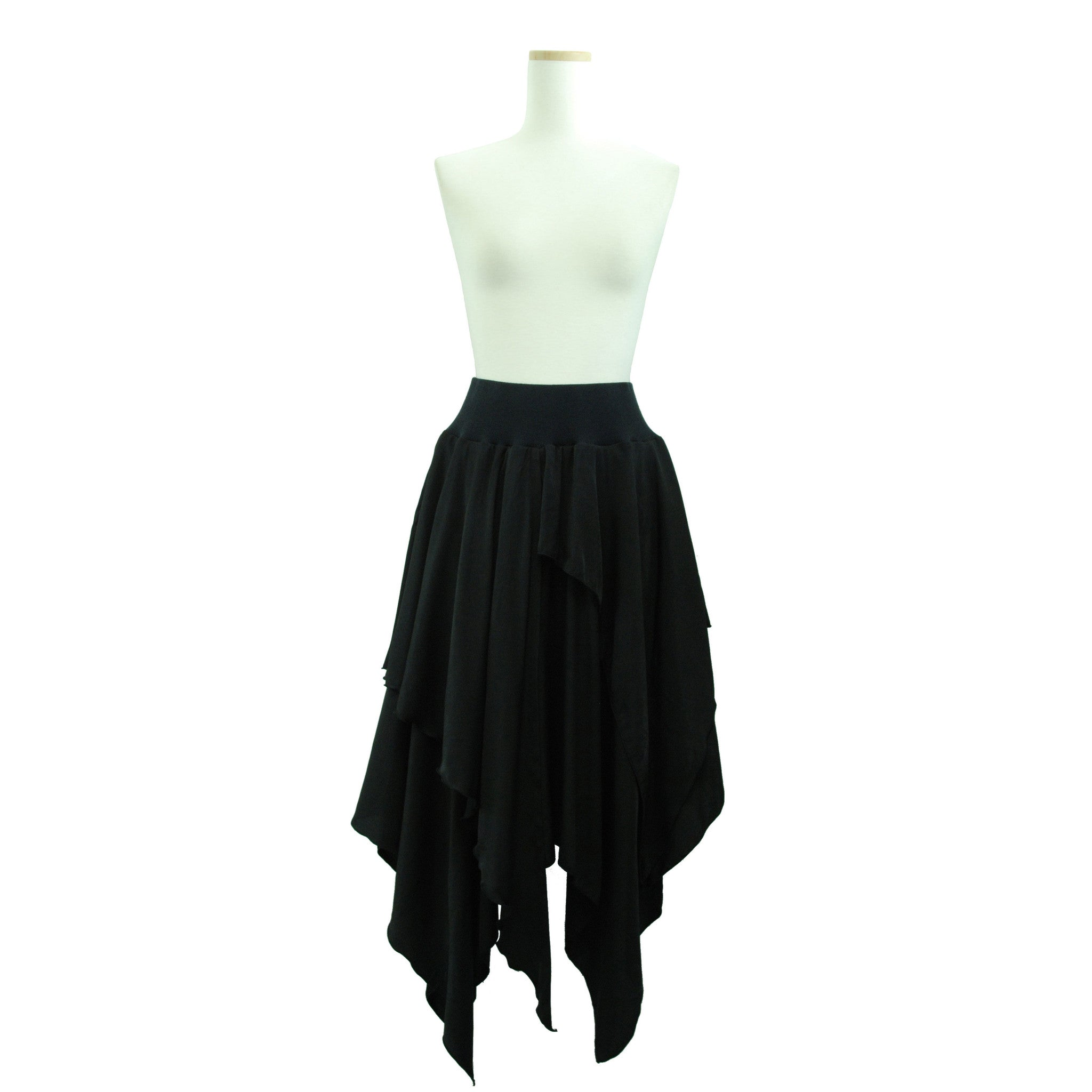 "Sheglit ""Layered rib skirt"""