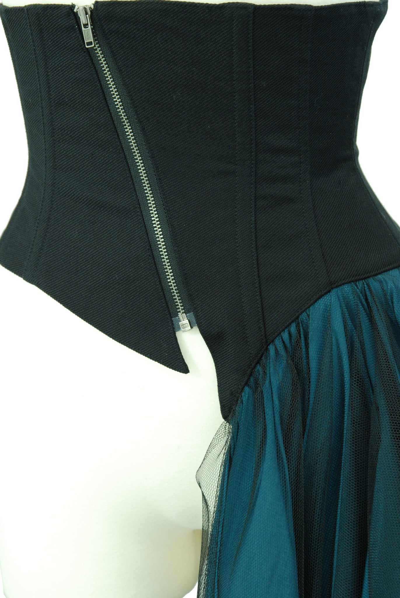 Sheglit Liberated Tulle Corset(black&blue)