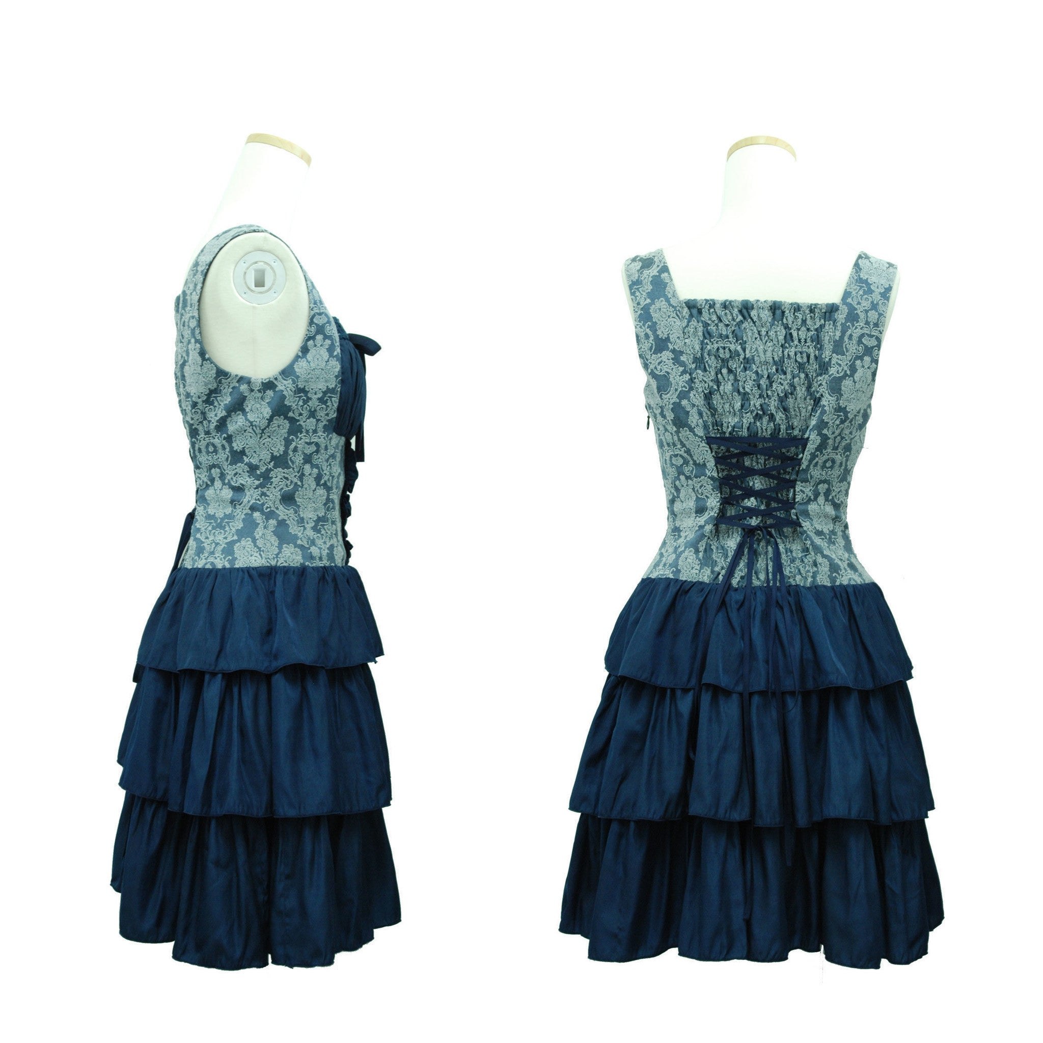 "Sheglit ""Damask tiered dress"""