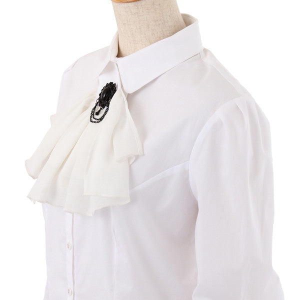 "Excentrique ""Blouse with Jabot"""