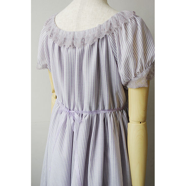 EXCENTRIQUE 15SP Organdy Dress(Purple)