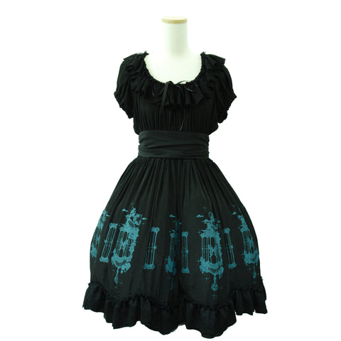 "Sheglit ""Caged Ulysses Dress(black)"""