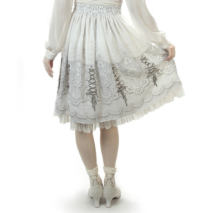 "abilletage ""Princess Chiffon Skirt""(medium) -Reservation-"
