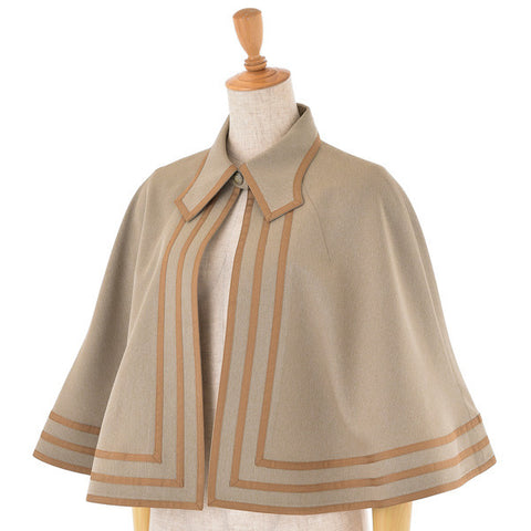 "EXCENTRIQUE""'15SP Scholar Cape -BEIGE-"""