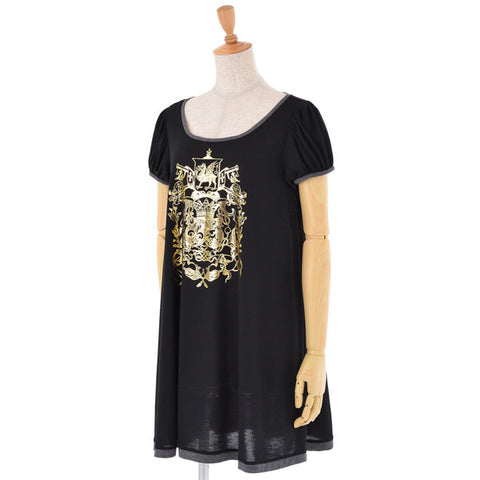 EXCENTRIQUE 15SP Crest Dress(BLK)