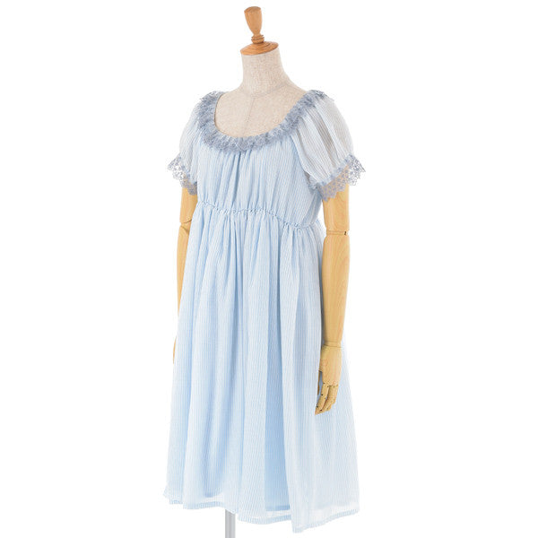 EXCENTRIQUE 15SP Organdy Dress(Blue)