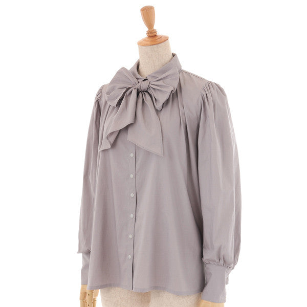 "EXCENTRIQUE ""'14W Flared Blouse with bow"""