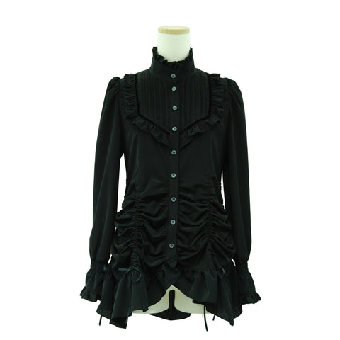 "Sheglit ""Shering tacks blouse(black)"""