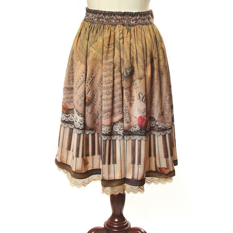 "abilletage ""Antique piano skirt medium"""