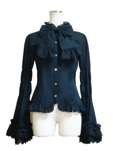 "ATELIER PIERROT ""Recitativo Blouse(black)"""