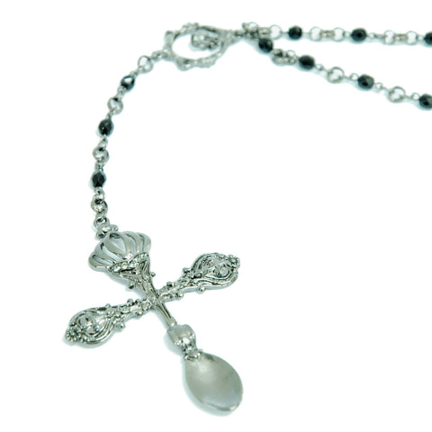 "Sheglit ""Cutlery rosary necklace"""