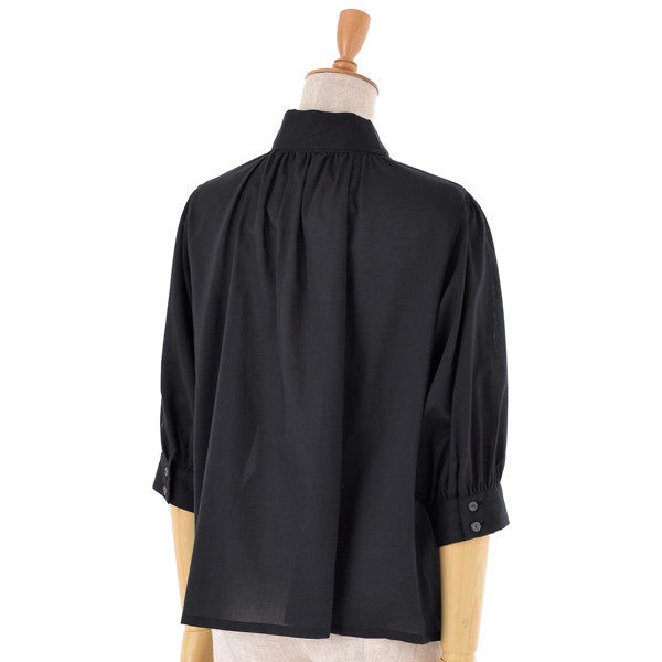 "EXCENTRIQUE"" '15SP Lawn Three-quarter sleeves Blouse"""