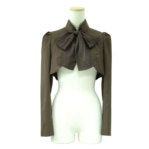 "Sheglit ""Ribbon Classical Bolero(brown)"""