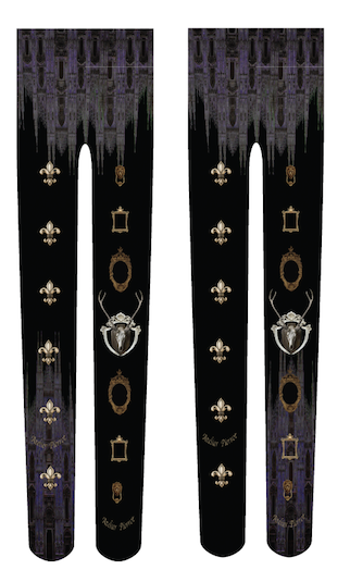 "ATELIER PIERROT""Night Church""Tights black"