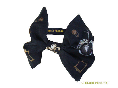 "ATELIER PIERROT""Night Church""headband black"