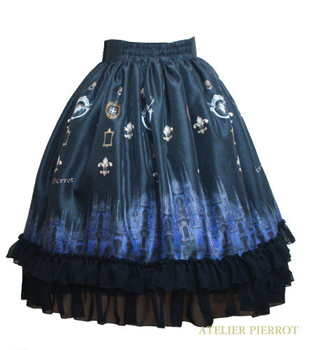 "ATELIER PIERROT""Night Church""Skirt black"