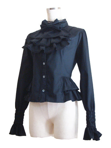 ATELIER PIERROT Divertimento Blouse Black