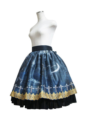 ATELIER PIERROT Holy Night Skirt gray