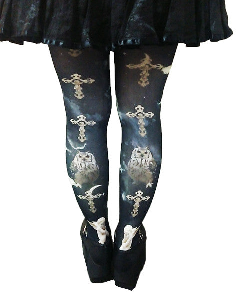 ATELIER PIERROT Holy night Tights