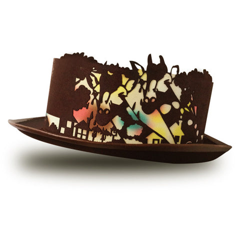 Coco & Ami hat Brown