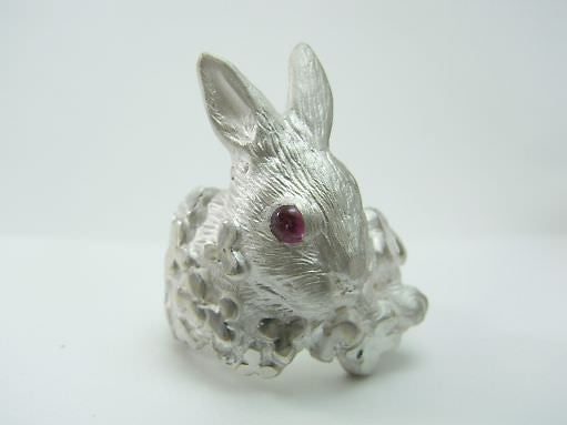 "DECO ""Rabbit&clover ring"""