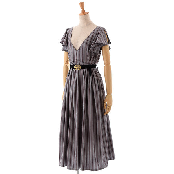 "EXCENTRIQUE ""'15SU Tablier Dress"" GRAY"