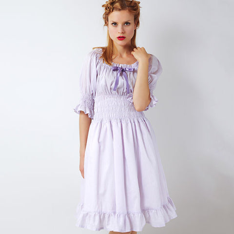"EXCENTRIQUE ""'15SU Flora Dress"" LAVENDER"