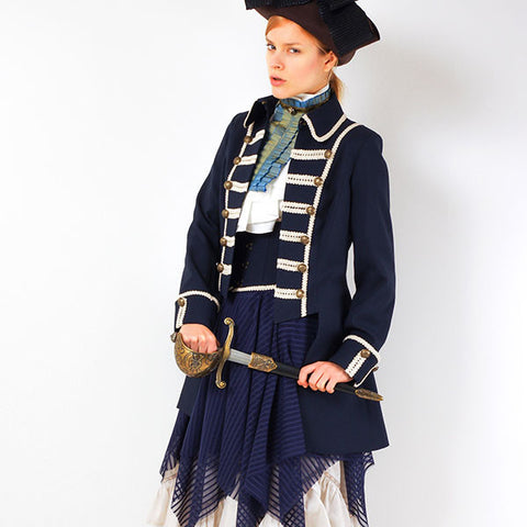 "EXCENTRIQUE ""'15SU Pirate Jacket NAVY"