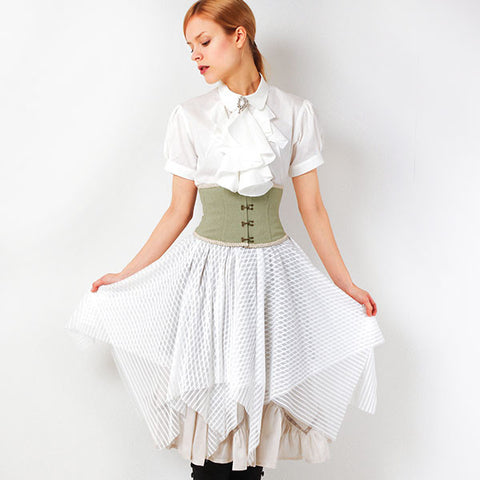"EXCENTRIQUE ""'15SU Pirate Corset Skirt"" SAND"