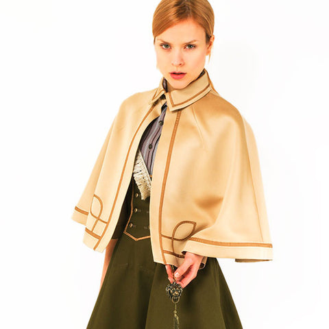 "EXCENTRIQUE ""'15SU Officer Cape"" GOLD"